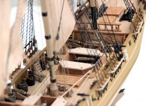 Model żaglowca HMS Granado