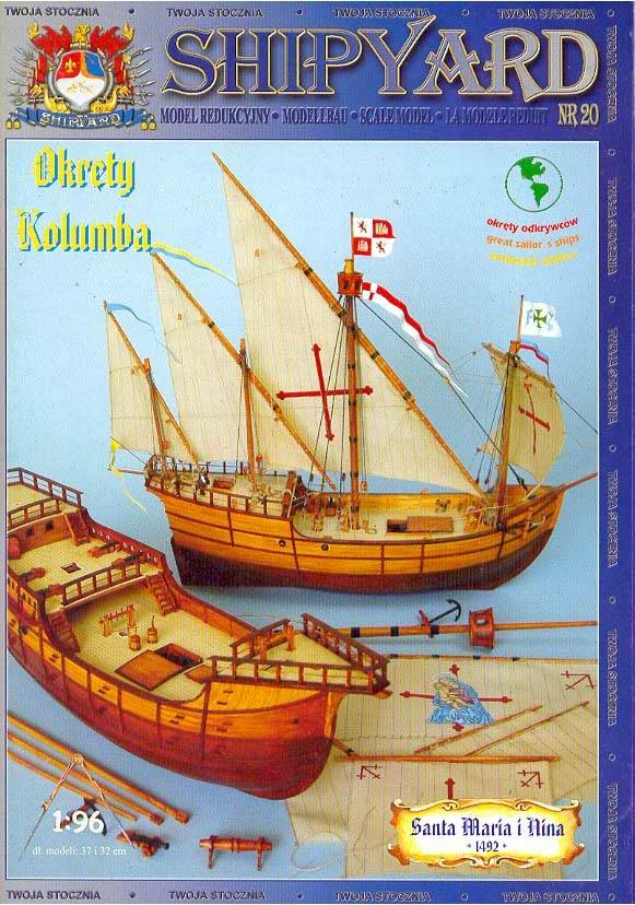 SY 20 Okrety Kolumba_title