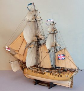 Model żaglowca , HMS Granado