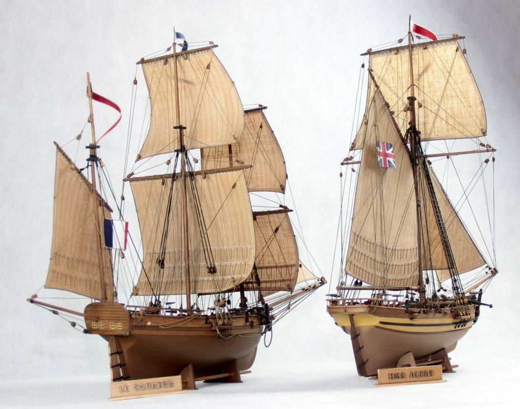 Le Coureur HMS Alert