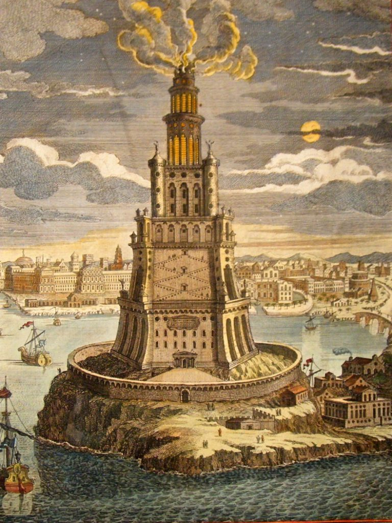 egypt-1744-folio-hand-col-print-ptolemy-lighthouse-of-alexandria-egypt-2-53630-p