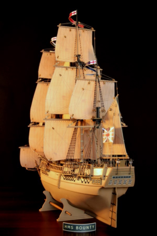 Modele żaglowców. HMS Bounty