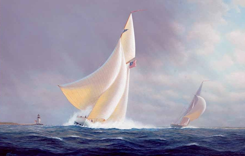 Tim Thompson 1951 - British Seascapes painter - Tutt'Art@ (3)