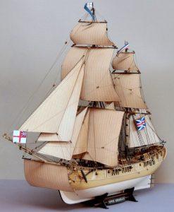 HMS Granado, model żaglowca
