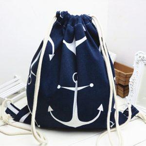 YILE-Cotton-Linen-Drawstring-Travel-Backpack-Student-Book-Shoes-Bag-Print-Anchor-Blue-B02.jpg_640x640