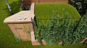 Ziemianka w ogrodzie