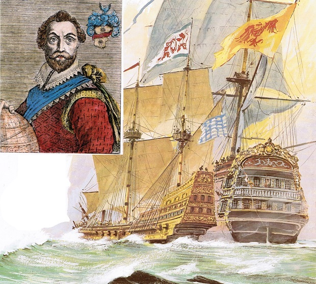 francis-drake-zdobycie-galeonu